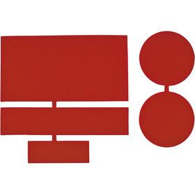 CAMPZ PVC Repair Patches 8 pcs. dark red